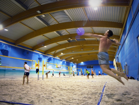 Beach volleyball courses at Beach Hamburg