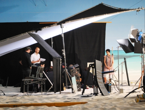 Production at the beach