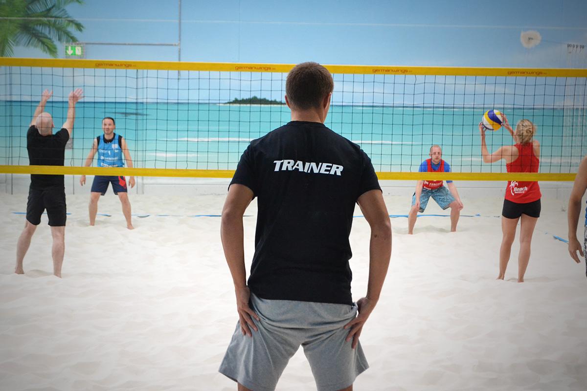 Beach-Volleyball Kurse - Beach Hamburg